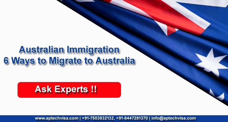 Australian Immigration – 6 Ways to Migrate to Australia